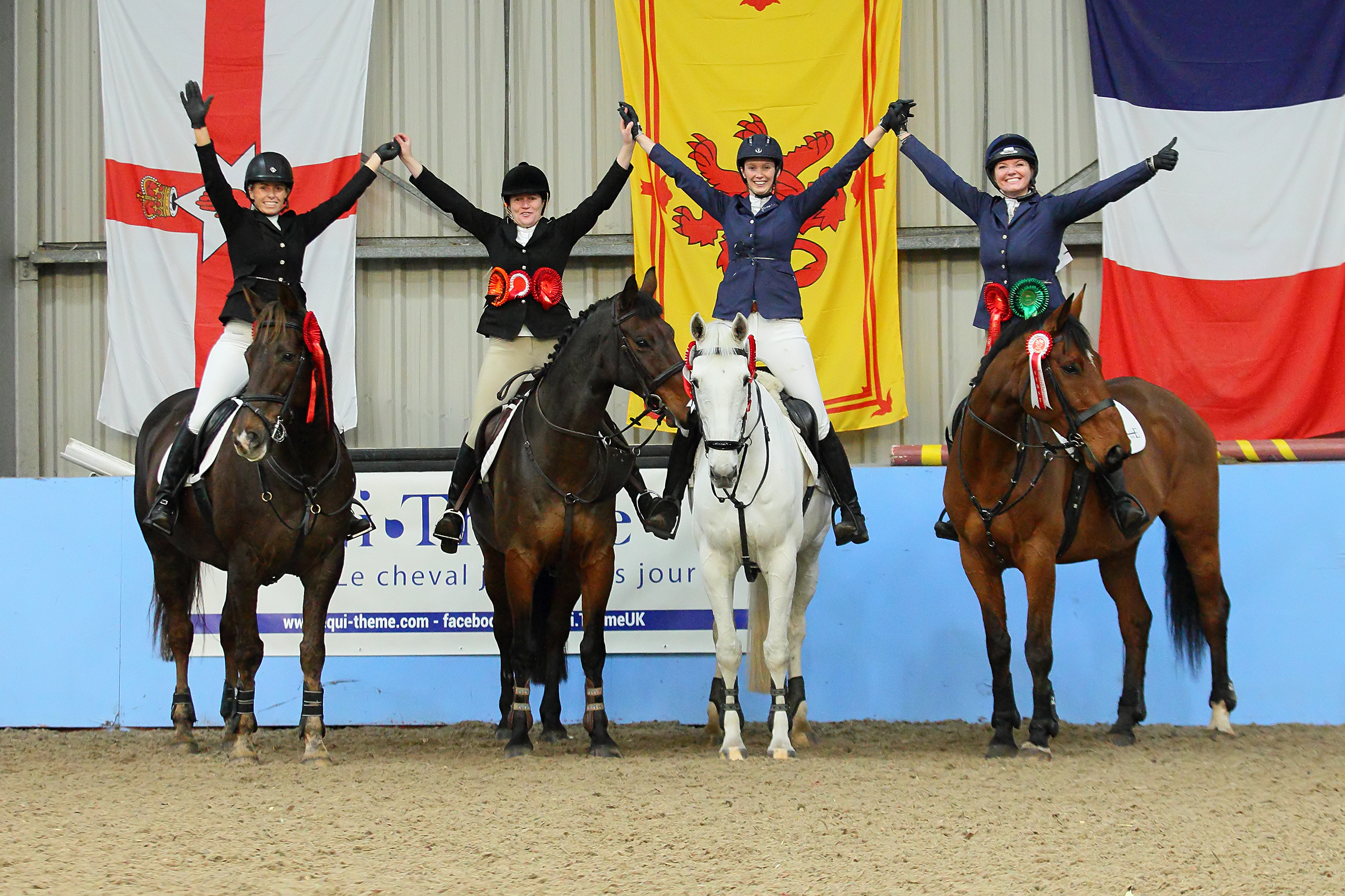 Equi-Thème Riding Clubs Intermediate Winter Championship Qualifiers Proving Popular